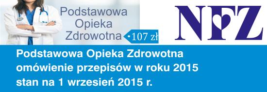 Przepisy POZ 2015